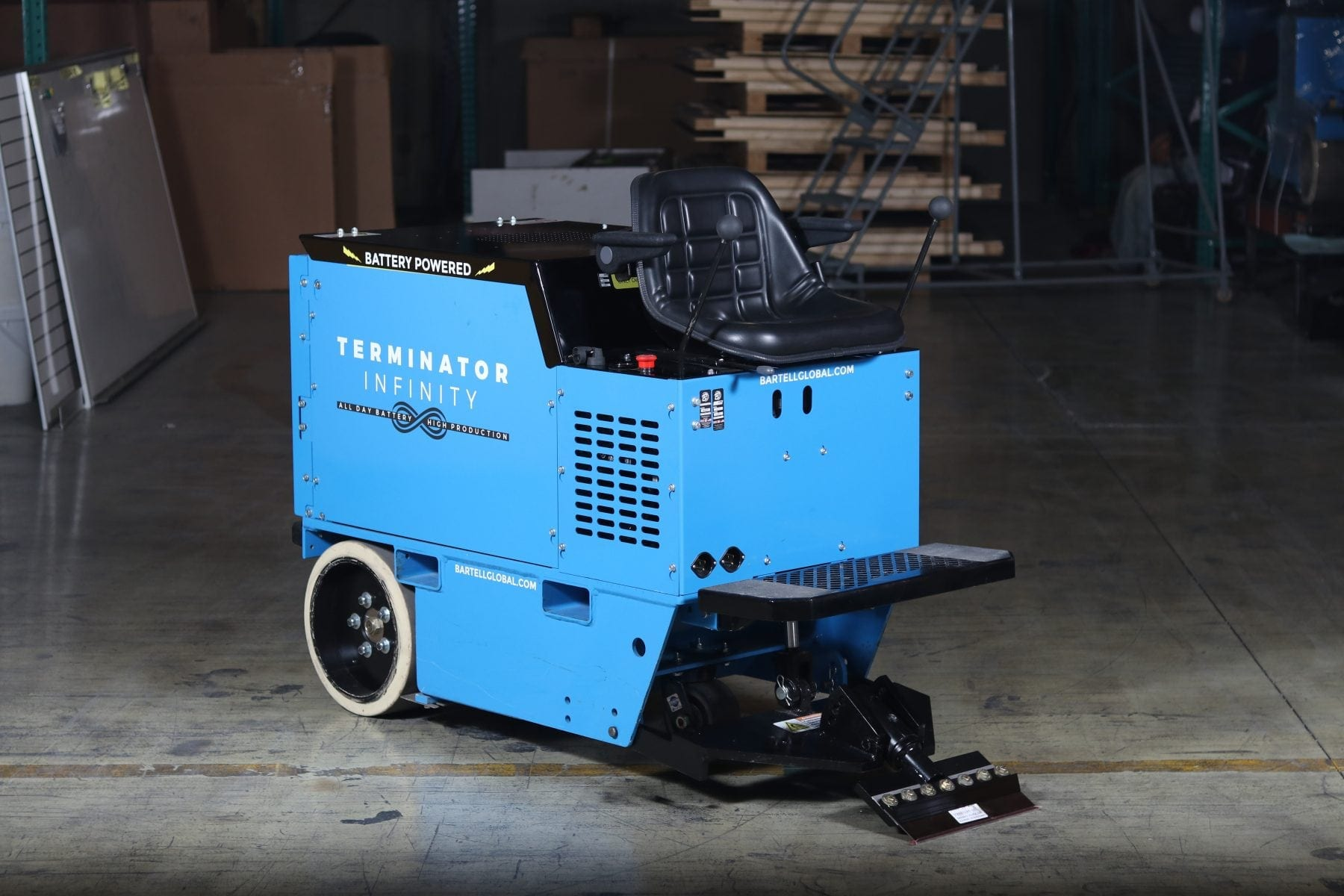 Terminator Infinity Floor Scraper Battery Powered Scraper - Bronco floor scraper rental