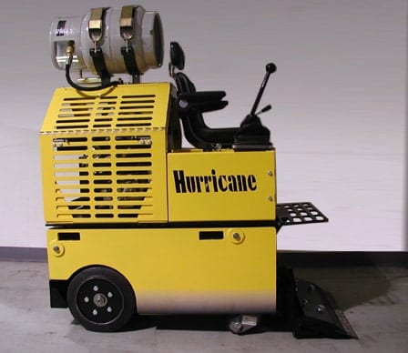 Hurricane Floor Scraper Equipment Sales Rentals - Stand up floor scraper